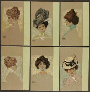 Raphael Kirchner - Portraits of Viennese Lad..