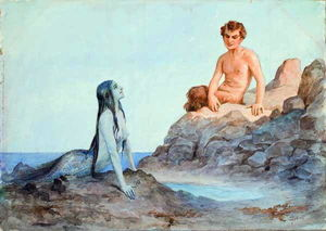 Sergey Solomko - Mermaid and faun