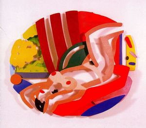 Tom Wesselmann - Naked on her back
