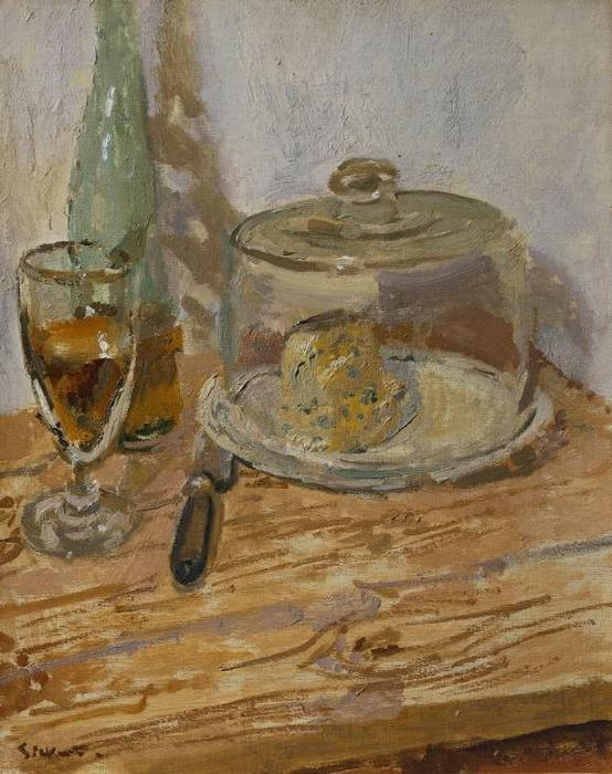 Roquefort, 1920 by Walter Richard Sickert (1860-1942, Germany) | Museum Quality Copies Walter Richard Sickert | ArtsDot.com