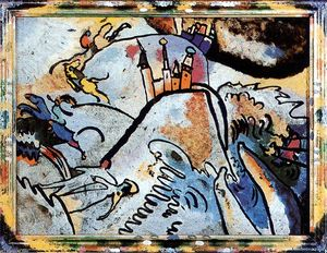 Wassily Kandinsky - Glass Painting with the S..
