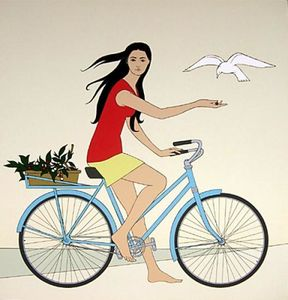 Will Barnet - Blue Bicycle