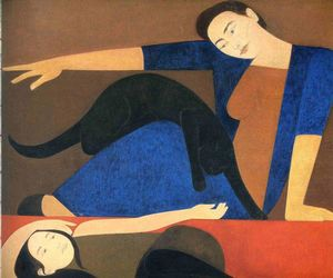 Will Barnet - The Blue Robe
