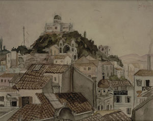 Yiannis Tsaroychis - Observatory as seen from ..