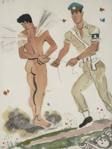 Yiannis Tsaroychis - Military Policeman arrest..