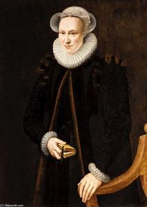 Adriaen Thomasz Key - Portrait of a Lady