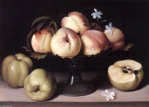 Panfilo Nuvolone - Still-life with Peaches