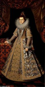 Frans The Younger Pourbus - Isabella Clara Eugenia of..