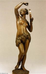 Jean Jacques Pradier - Negress with Tambourine