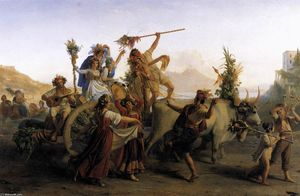 Louis Léopold Robert - The Pilgrimage to the Mad..
