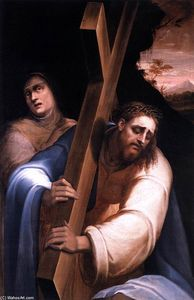 Giovanni De' Vecchi - Carrying the Cross