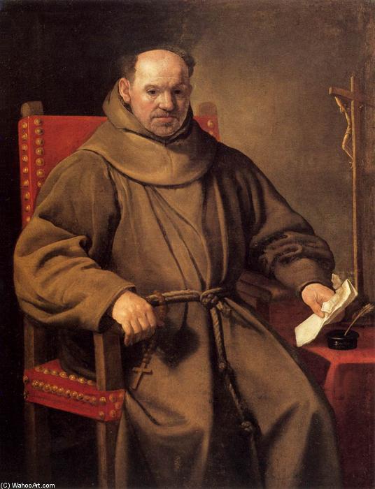 Retrato de un fraile, 1650 de Carlo Ceresa (1609-1679, Italy) |  Reproducciones De Arte Del