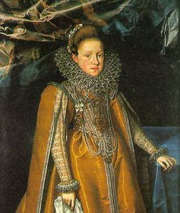 Frans The Younger Pourbus - Portrait of Maria Magdale..