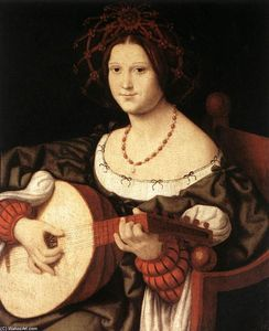 Andrea Solario - The Lute Player