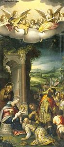 Prospero Fontana - The Adoration of the Magi