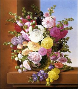 Adelheid Dietrich - Still Life of Flowers