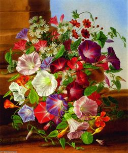 Adelheid Dietrich - Still LIfe with Flowers
