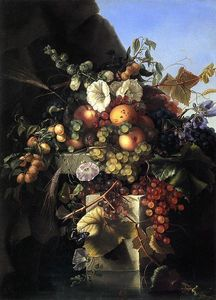 Adelheid Dietrich - Still Life with Grapes, P..