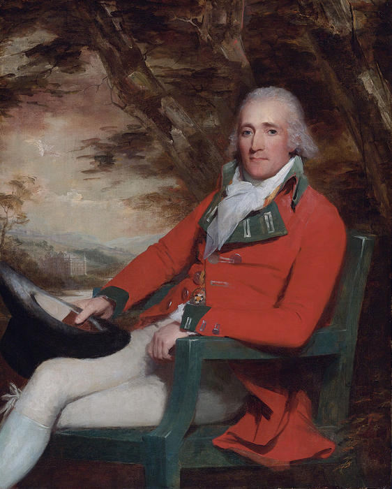 Thomas Carmichael, 5th Earl of Hyndford by Henry Raeburn (1756-1823, United Kingdom) | Paintings Reproductions Henry Raeburn | ArtsDot.com