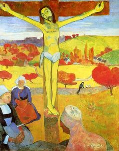 Paul Gauguin - giallo cristo