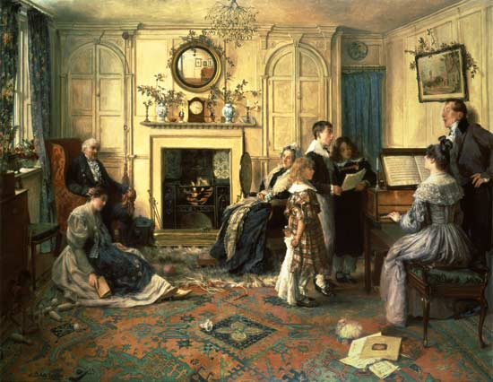 Home, Sweet Home by Walter Dendy Sadler (1854-1923, United Kingdom) | Art Reproduction | ArtsDot.com