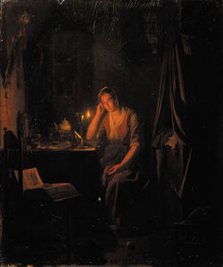 Johannes Rosierse - A Thoughtful Moment
