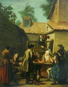 Jan Josef Horemans The El.. - A Tavern Scene