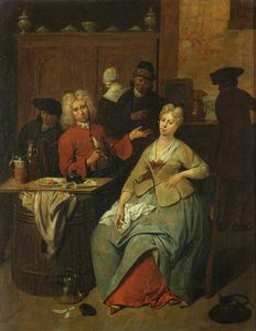Jan Josef Horemans The El.. - Tavern Scene