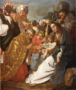 Abraham Janssens - The Adoration Of The Magi