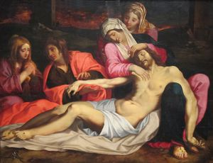 Abraham Janssens - The Lamentation Of Christ..