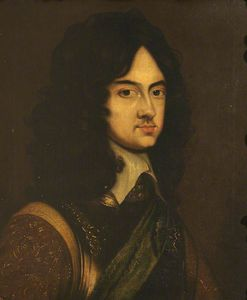 Adriaen Hanneman - Charles Ii As A Young Man