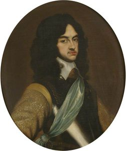 Adriaen Hanneman - Charles Ii As Prince Of W..