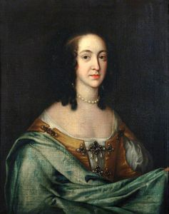 Adriaen Hanneman - The Wife Of The First Duk..