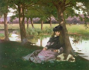 Alexander Mark Rossi - An Afternoon By A River W..