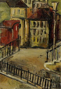 Alice Bailly - Courtyard