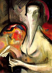 Alice Bailly - Self Portrait