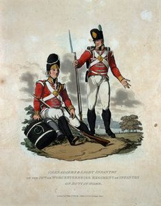 Charles Hamilton Smith - Grenadiers And Light Infa..
