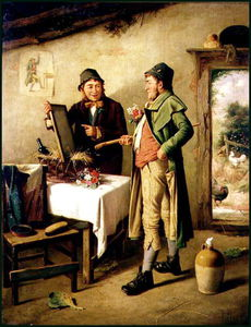 Charles Hunt - Admiring His Reflection