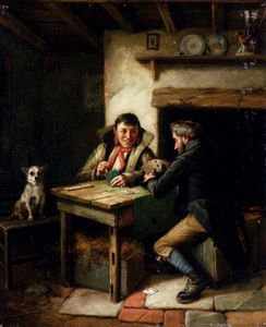 Charles Hunt - The Card Players