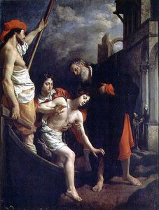 Cristofano Allori - The Hospitality Of St. Ju..