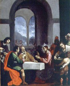 Cristofano Allori - The Supper At Emmaus
