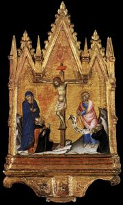 Francesco Di Vannuccio - Crucifixion With Donor