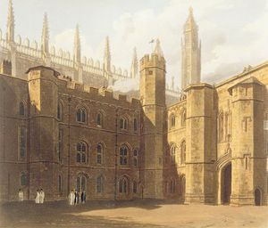 Frederick Mackenzie - Court Of King's College, ..