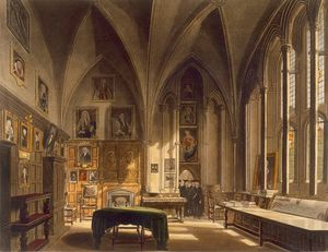 Frederick Mackenzie - Interior Of The Chapter H..