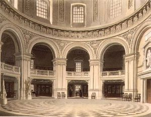 Frederick Mackenzie - The Dome In Radcliffe Lib..