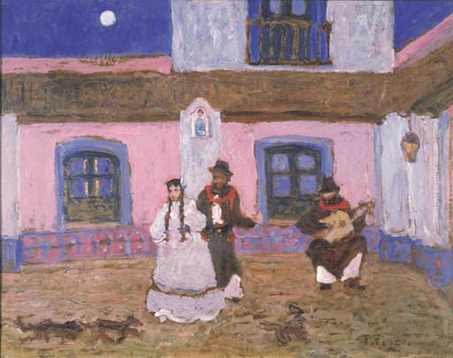 El Requiebro de Pedro Figari (1861-1939, Uruguay) | Reproducciones De  Pinturas Pedro Figari | ArtsDot.