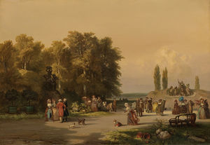 Charles Rochussen - Park In The Vicinity Of P..