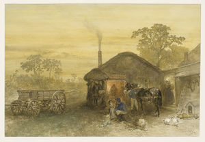 Charles Rochussen - The Blacksmith