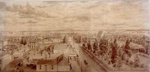 Eugene Von Guerard - Ballarat From The Tower O..