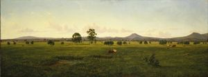 Eugene Von Guerard - View Of The Gippsland Alp..